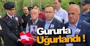 Kıbrıs Gazisi Son Yolculuğuna Gururla Uğurlandı !