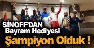 Sinoplu Pilotlar Türkiye Şampiyonluğunu Garantiledi !