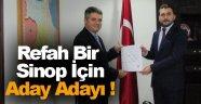Osman Güleryüz; Daha Refah Bir Sinop İçin Adayım !