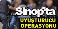 Sinop'ta uyuşturucu operasyonu 3 Gözaltı !