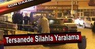 Tersanede Silahla Yaralama !!!