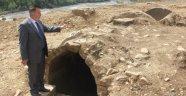 SİNOP'TA BULUNAN MEZARLAR ROMA DÖNEMİNE AİT