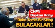 CHP'li Başkan Adayı Gazetecilere Konuştu !