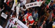 HDP NÜKLEER PROTESTOSU İÇİN SİNOP SOKAKLARINDA