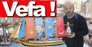 Kotra maketini Cumhurbaşkanı Erdoğan'a hediye etmek istiyor