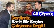 AK Partili Aday Ali Çöpcü; Esnafımız Sinop'un Göz Bebeğidir !