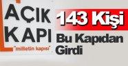 Sinop'ta Açık Kapı Bürosuna 143 başvuru yapıldı