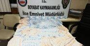 Boyabat'ta sahte para operasyonu: 2 gözaltı