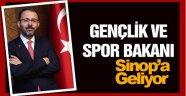 Spor Bakanı Sinop'a Geliyor !