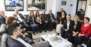 CHP örgütünden başkan ve yardımcılarına ziyaret