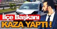 CHP Sinop Merkez İlçe Başkanı Trafik Kazası Geçirdi !