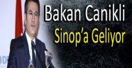 Bakan Canikli Sinop'a Geliyor