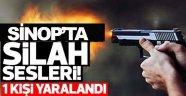 Sinop'ta kavga 1 yaralı !