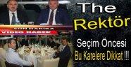 REKTÖR ADAYINDAN  GÖVDE GÖSTERİSİ !!!