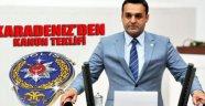 Barış Karadeniz'den Polisler İçin Kanun Teklifi