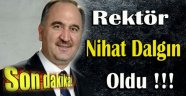 SİNOP ÜNİVERSİTESİNİN YENİ REKTÖRÜ  DALGIN OLDU !!!