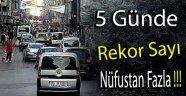 SİNOP'A 5 GÜNDE 57 BİN ARAÇ GİRİŞ YAPTI