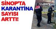 Sinop'ta karantinaya alınan köy sayıları arttı!