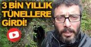 Gazeteci Deniz Özen Sinop'ta ki 3 Bin Yıllık Tünellere Girdi!