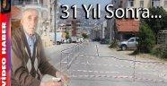 MAHKEMEYİ KAZANAN VATANDAŞ 31 YIL SONRA YOLU TRAFİĞE KAPATTI