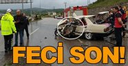 Sinop'ta kaza 1 ölü!
