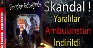 YARALILAR AMBULANSTAN İNDİRİLDİ !!!