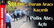 SİNOP'TA BİR ARACI KAÇIRAN VATANDAŞI POLİS ATEŞ AÇARAK DURDURDU