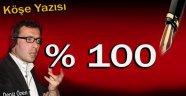 Köşe Yazısı  % 100...