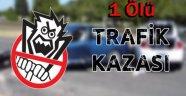 Lala'da Trafik Kazası 1 Ölü