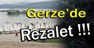 Gerze İlçesinde Kanalizasyon Rezaleti !!!