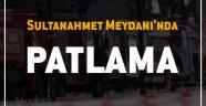 Sultanahmet Meydanında Patlama !!!