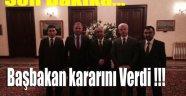BAŞBAKAN KARARINI VERDİ !!!