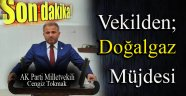 AK PARTİLİ VEKİL'DEN  DOĞAL GAZ MÜJDESİ !!!