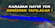 Ayancık Sinop Yolu Deniz Üstünden Geçecek!