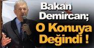 """Bakan Demircan; """"Meclis ile yürütme arasındaki uyuşma hızlı kalkınmayı sağlayacak"""""""