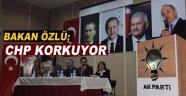 Bakan Özlü Sinop'tan CHP'ye Yüklendi! 'Korkuyorlar'