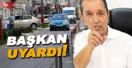 Başkan Ergül'den sürücülere park uyarısı