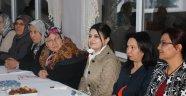 Bayan İpek; Vatandaşla Bir Araya Geldi