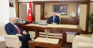 BOYABAT CUMHURİYET BAŞSAVCISI'NDAN VALİ İPEK'E ZİYARET