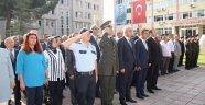 Boyabat'ta Gaziler günü töreni düzenlendi