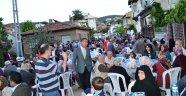 Boyabat'ta mahalle iftarları