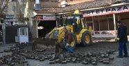 Boyabat'ta Tarihi Orta Çarşı'nın restorasyonuna başlandı