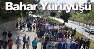 """Boyabat'ta """"Tarihten Doğaya Bahar Yürüyüşü"""" düzenlendi"""