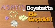 Boyabat'ta Uyuşturucu Operasyonu !