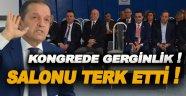 CHP Kongresinde olay! Başkan Oy Kullanmadan Salonu Terk Etti!