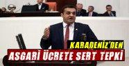 CHP'li Vekilden Asgari Ücrete Sert Tepki!