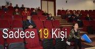 Diyabet Konferansına Sadece 19 Kişi Katıldı