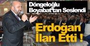 Dögeloğlu Boyabat'tan İslam Camiasına Seslendi !