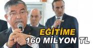 Eğitime 160 Milyon Tl'lik Yatırım!