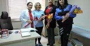 Emniyetten Sağlık çalışanına Süpriz Ziyaret